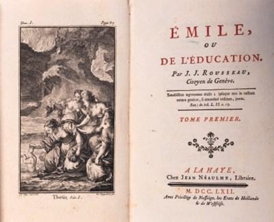 ROUSSEAU, Jean Jacques. Emile;