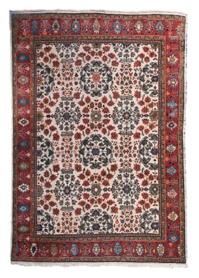 An antique Mahal carpet, West