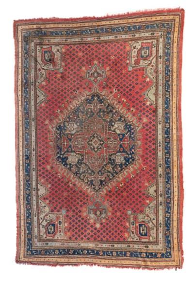 An Ushak carpet, Turkey