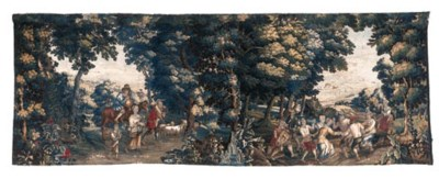 A Lille Pastoral tapestry earl