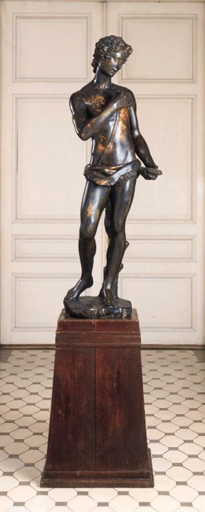 An Italian or German bronze fi