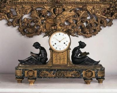 A late Louis XVI bronze ormolu