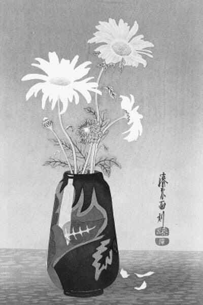 Yoshijiro Urushibara, two wood