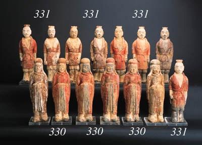 A set of six Northern Wei pott