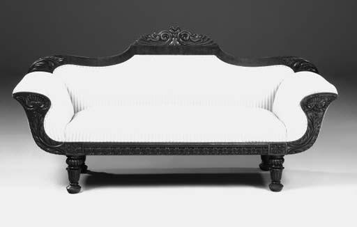 A William IV mahogany sofa