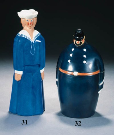 A PORCELAIN BOX AND COVER