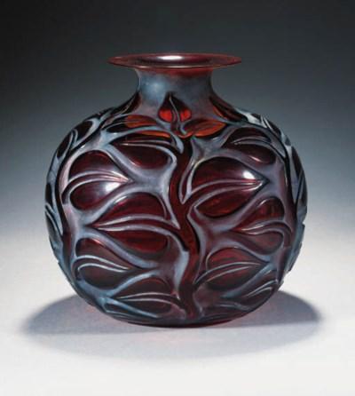 'SOPHORA' A GLASS VASE