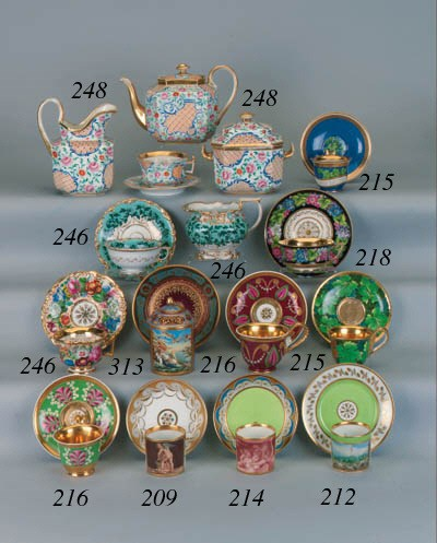 A Vienna Empire style cup and
