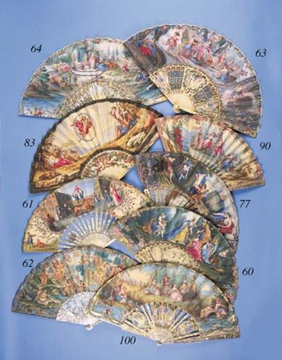 The Triumph of Galatea, a fan,
