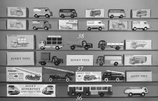 Dinky French Factory Lorries