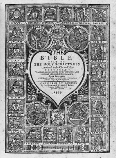 BIBLE, in English -- The Bible