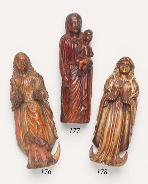 A Goanese carved ivory group o