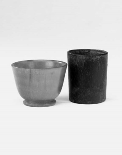 A German rhino horn cup, possi