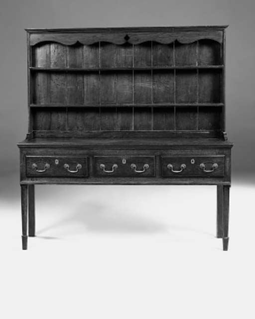 An oak dresser, English, early