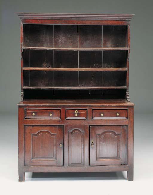 An oak dresser, North Wales, e