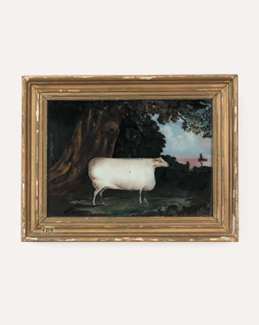 An English reverse painting on