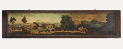 An English naive panoramic pan