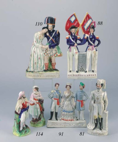 A group of Napoleon III and Pr