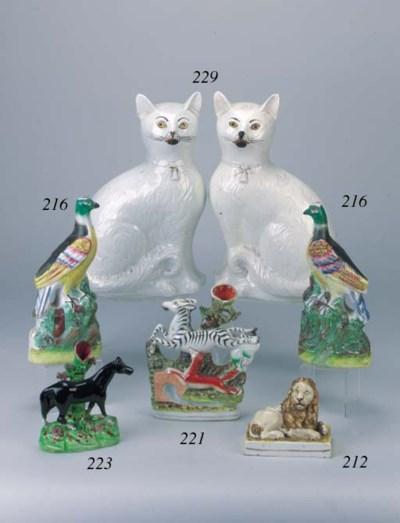 A pair of models of exotic bir