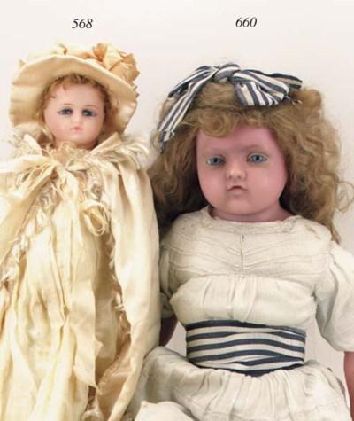 A Pierotti wax doll