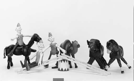 A Schoenhut circus