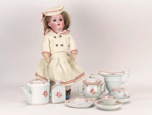 A Qian Long child's tea servic