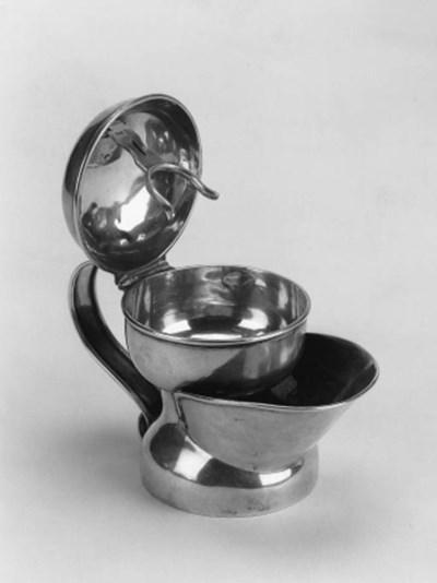 A late Victorian shaving mug,