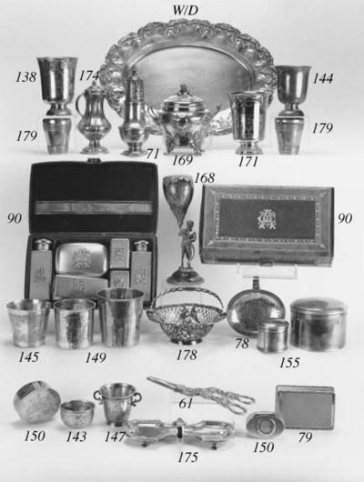 A Victorian silver-gilt gentle