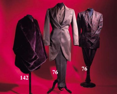 Two suits, comprising jacket,