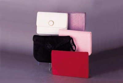 A collection of evening clutch