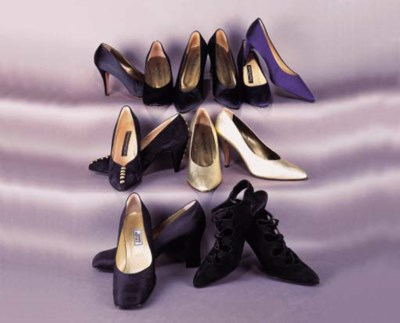 A collection of shoes by vario
