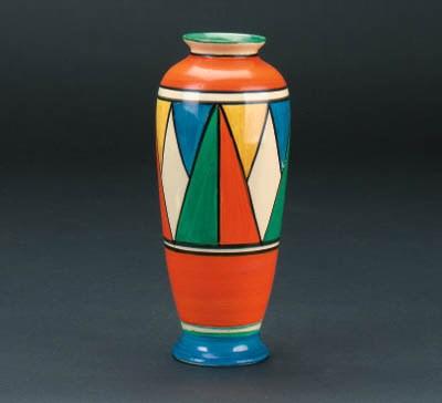 'Original Bizarre' a vase