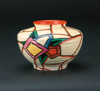 'Latona Stained Glass' a vase