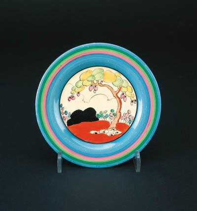 'Tulip' a  'Bizarre' side plate