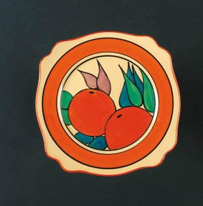 'Oranges' a  'Bizarre' plate