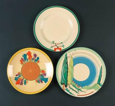 'Clovelly' a plate