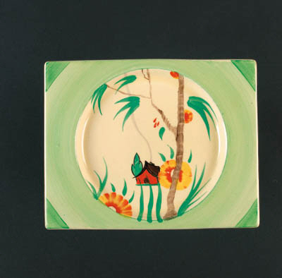 'Bamboo' a Biarritz plate