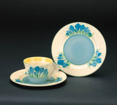 'Blue Crocus' a teacup and two