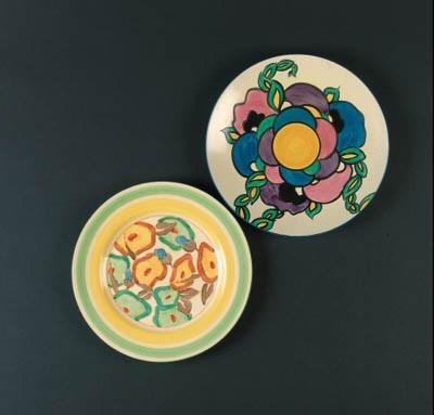 'Green Chintz' a plate
