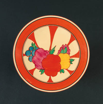 'Fruitburst' a  'Fantasque Bizarre' plate