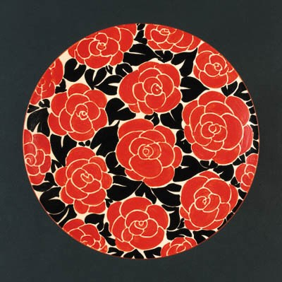 'Latona Red Roses' a  'Bizarre