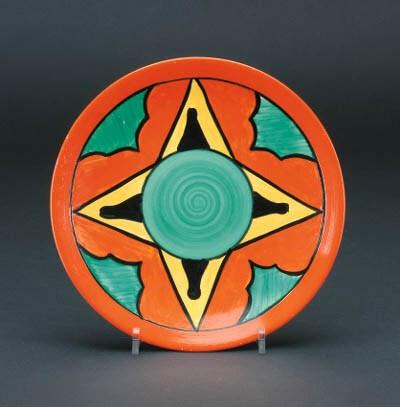 'Keyhole' a  'Bizarre' plate