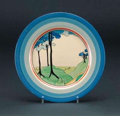 'Blue Firs' a  'Bizarre' plate