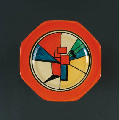 'Cubist' a  'Bizarre' plate