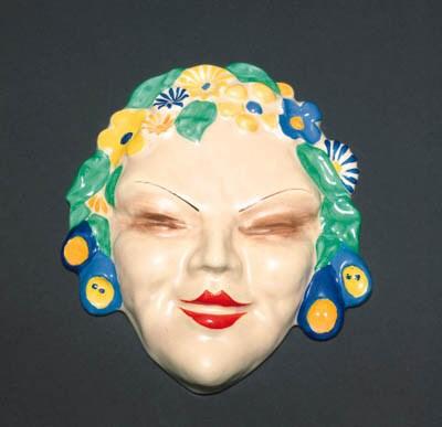 'Flora' a  'Bizarre' wall mask