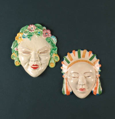 'Flora' a wall mask