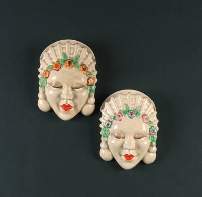 'Marlene' two wall masks