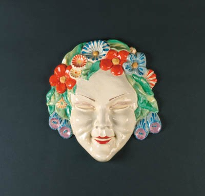 'Flora' a large wall mask