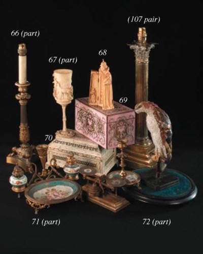A Napoleon III Paris porcelain