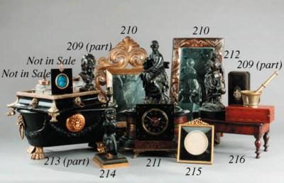 A Victorian miniature mahogany
